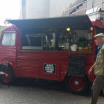 Citroen HY Van selling cocktails on the Southbank, London, July 2015