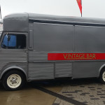 A Vintage Bar Citroen HY Van at Silverstone Classics in July 2015