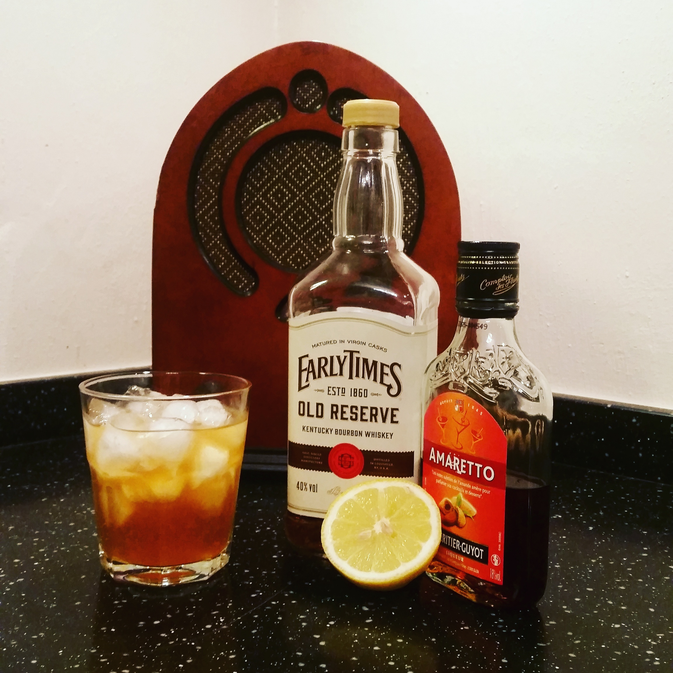 Redneck Riviera Amaretto Bourbon Cocktail