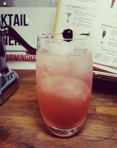 Cham 69 #1/ Cherry Bakewell Tart Cocktail